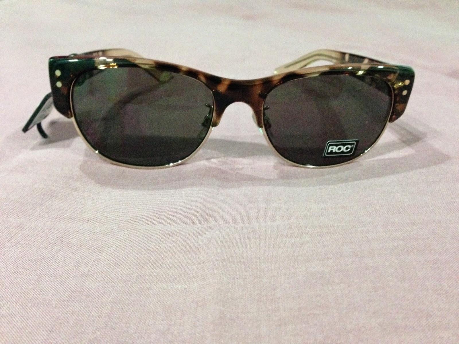 ROC Sinatra brown/tortoiseshell cat eye sunglasses