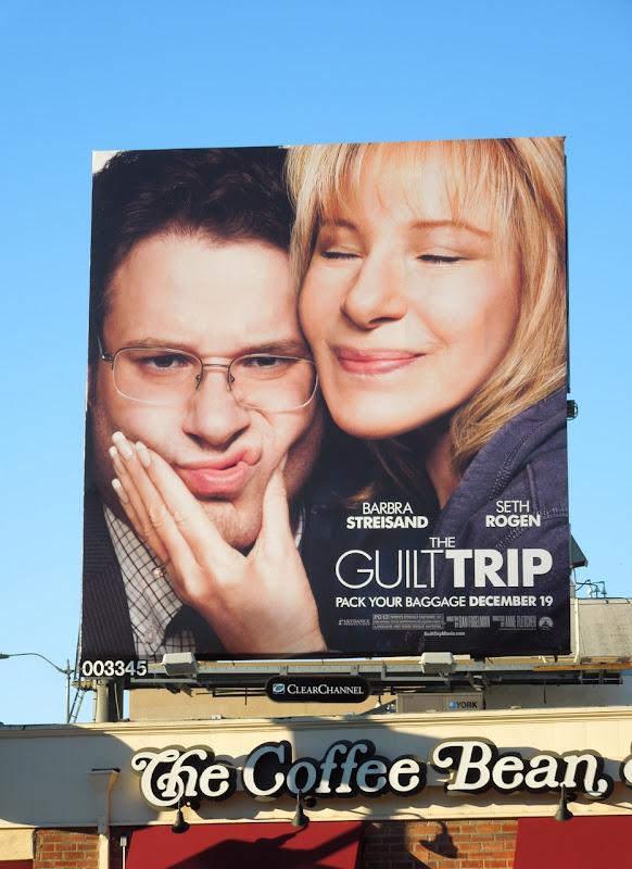 Guilt Trip movie billboard