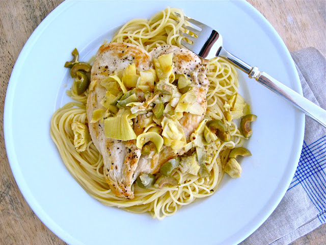 Jenny Steffens Hobick: Chicken Artichokes & Olives with ...