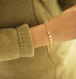 Free Roman Numerals Bracelet