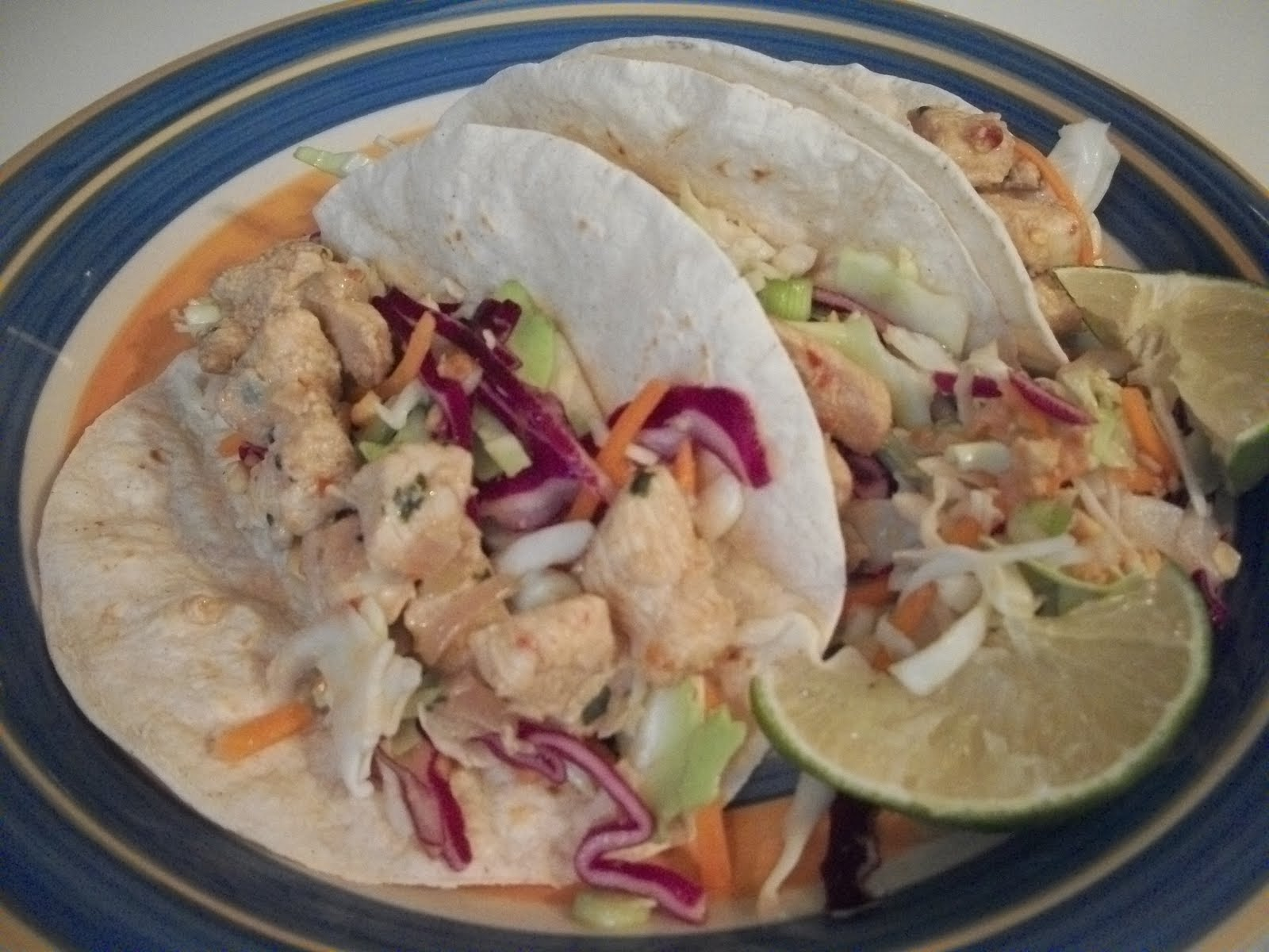 Cook with Sara: Thai Chicken Tacos