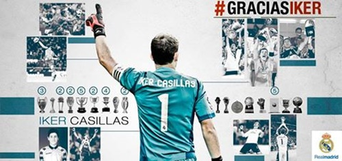 Iker Casillas deixa Real Madrid