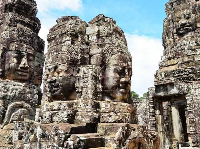 Angkor Thom - Camboja, Bayon Temple