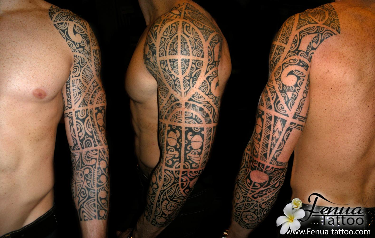 Tatouage Torse Homme Polynesien Maori - Www.P1Q.eu - Funny Pics