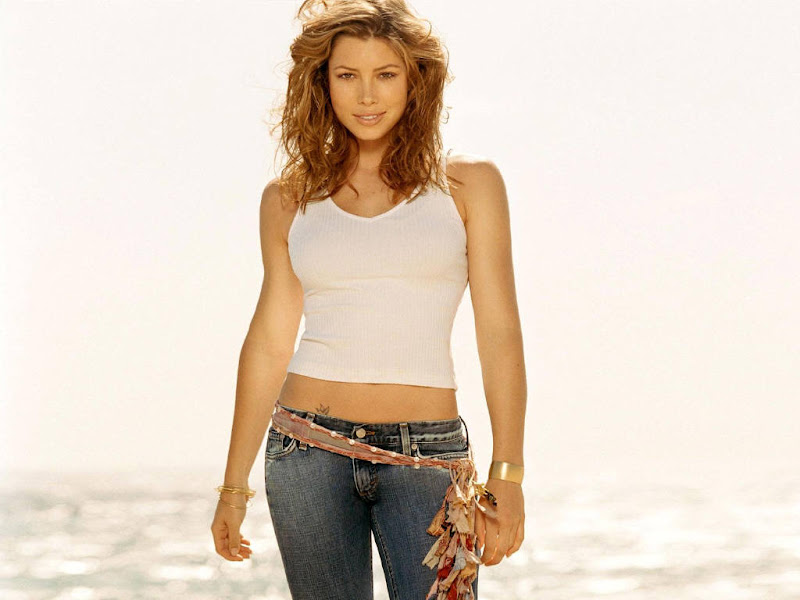 Jessica Biel Wallpaper sexy stills