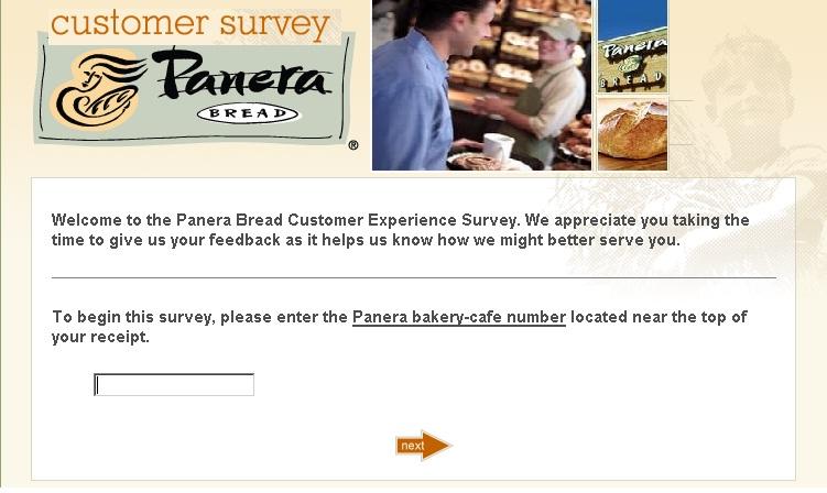 panera  survey