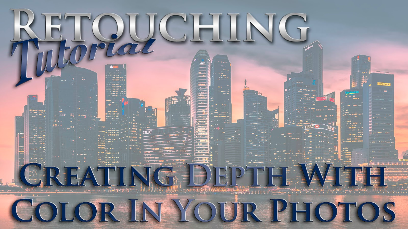 Lightroom 5 Retouching Workflow, Creating Depth With Color In Your Photos | Video Tutorial