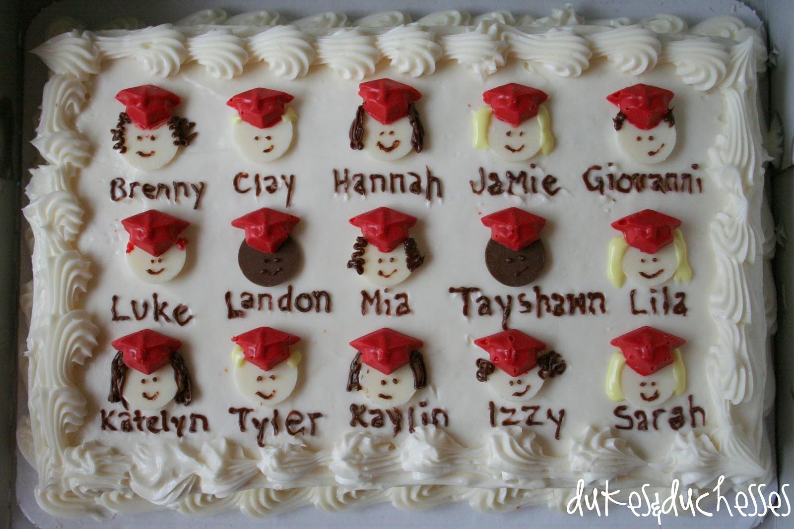 Ideas For Preschool Graduation Cake