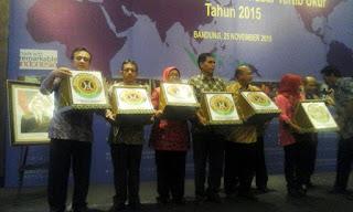 Dua Pasar Tradisional Di Kota Tegal Raih Penghargaan Pasar Tertib Ukur 2015