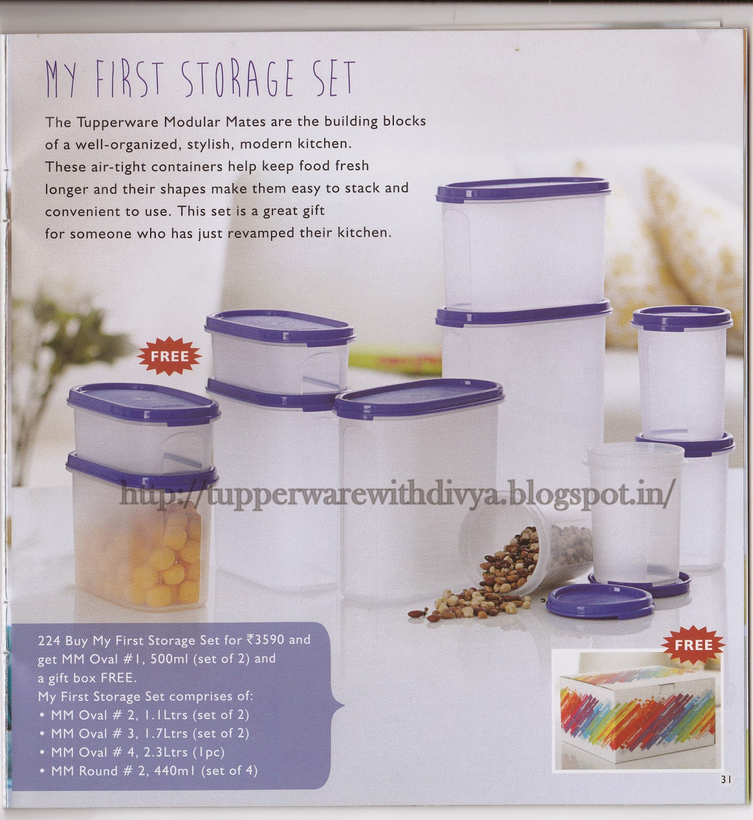 Tupperware with Divya: December 2013