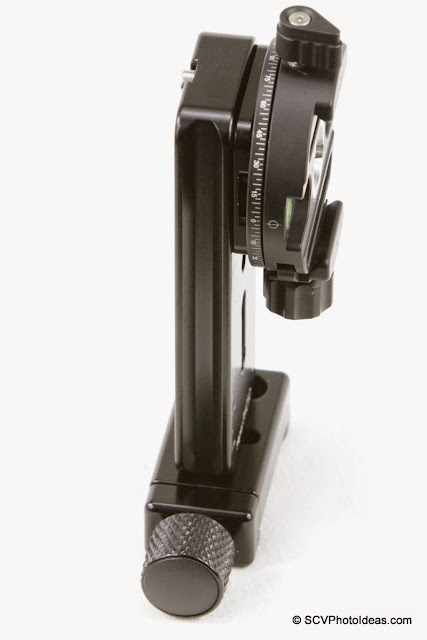 Mini MR Pano Vertical rail + Sunwayfoto DDH-02 + MPP-01 - assembled