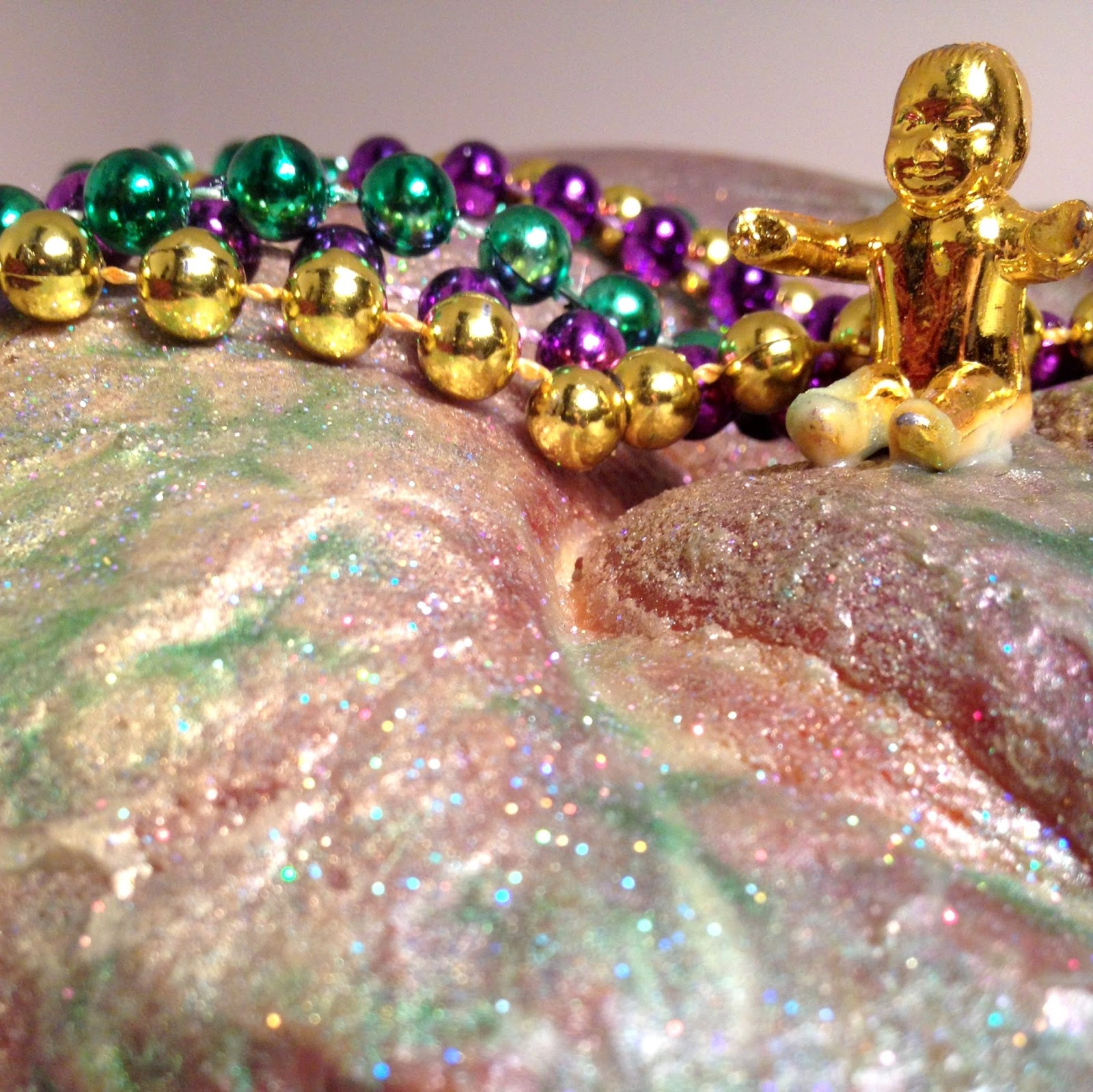King Cake Recipe Sucre