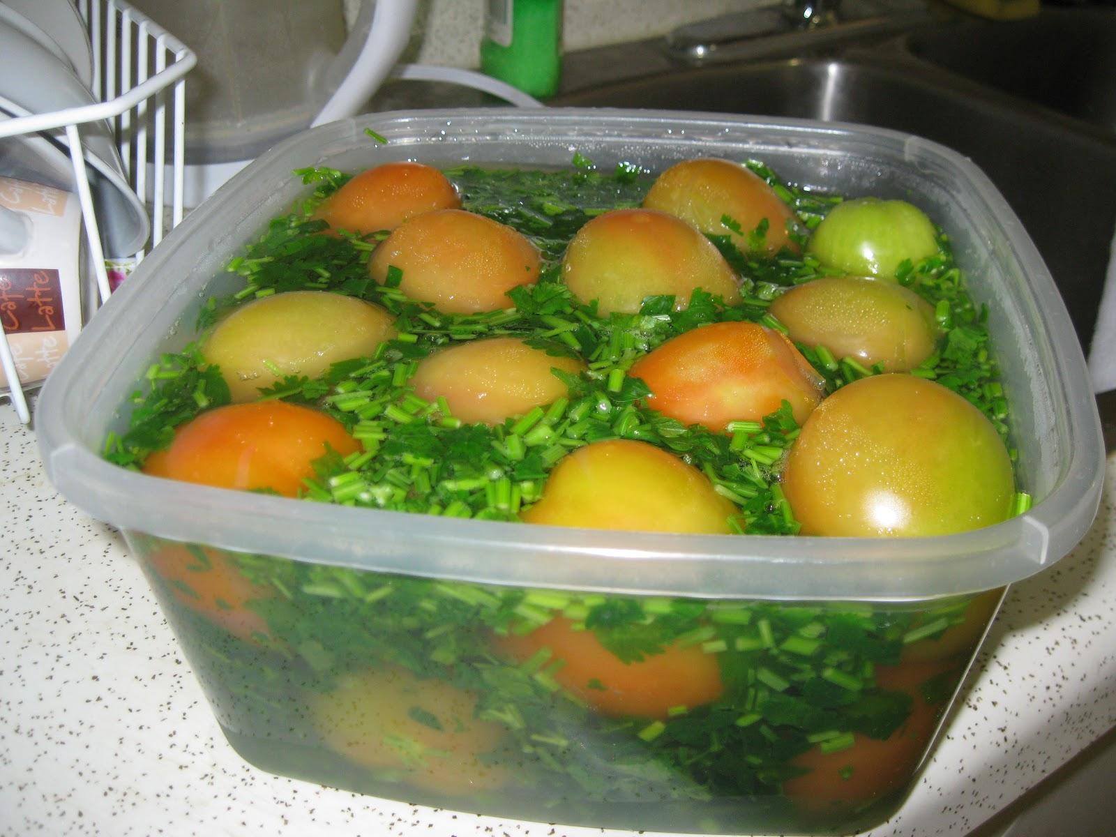 Зеленые помидоры в кастрюле рецепты с фото пальчики оближешь
