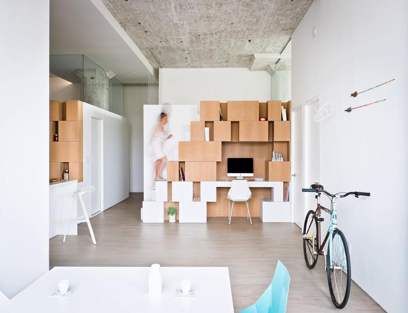 loft a brooklyn by sabo project | arc art blog by daniele drigo - Costruito Nel Design Armadio