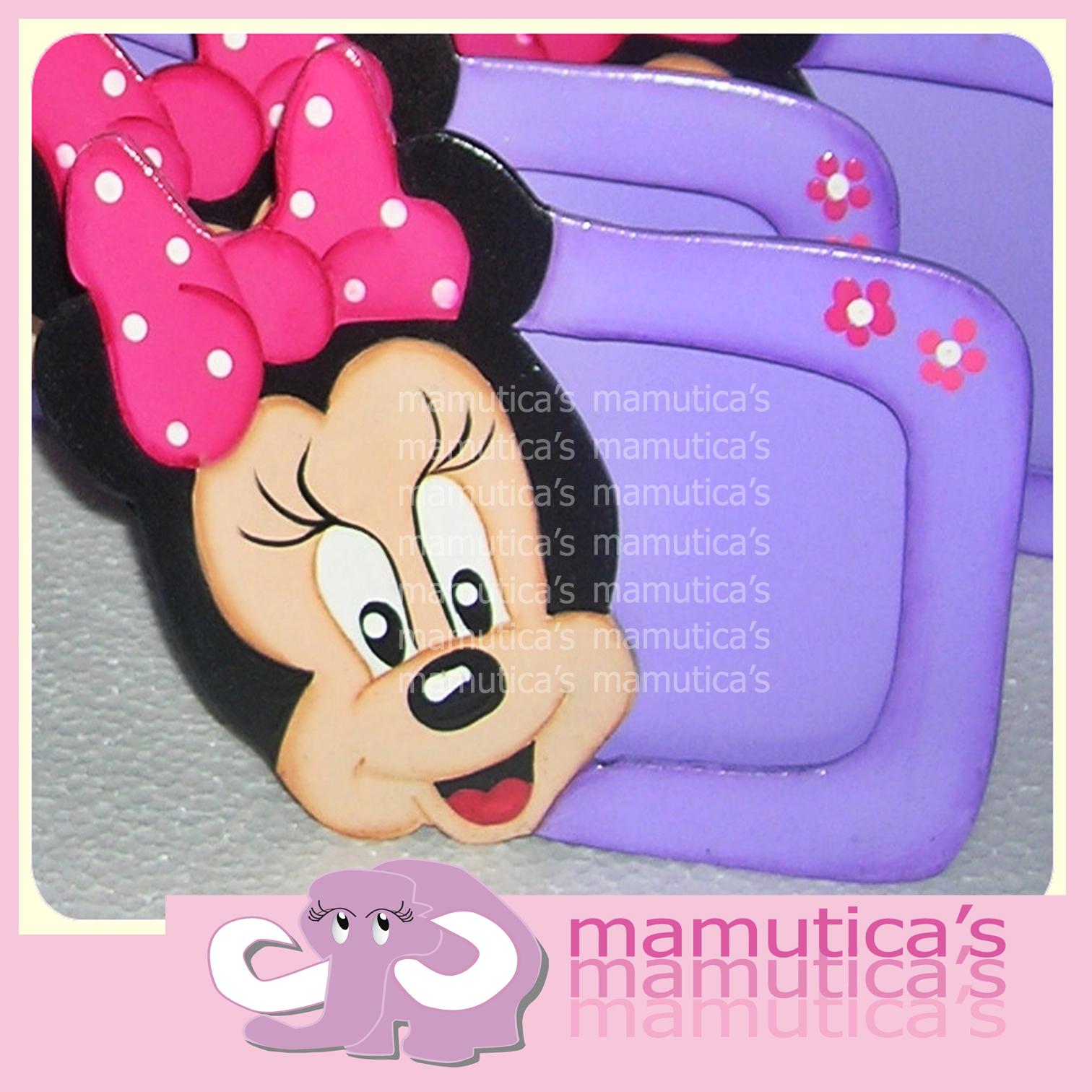 Porta Retratos  O Invitaci  N Recuerditos Minnie