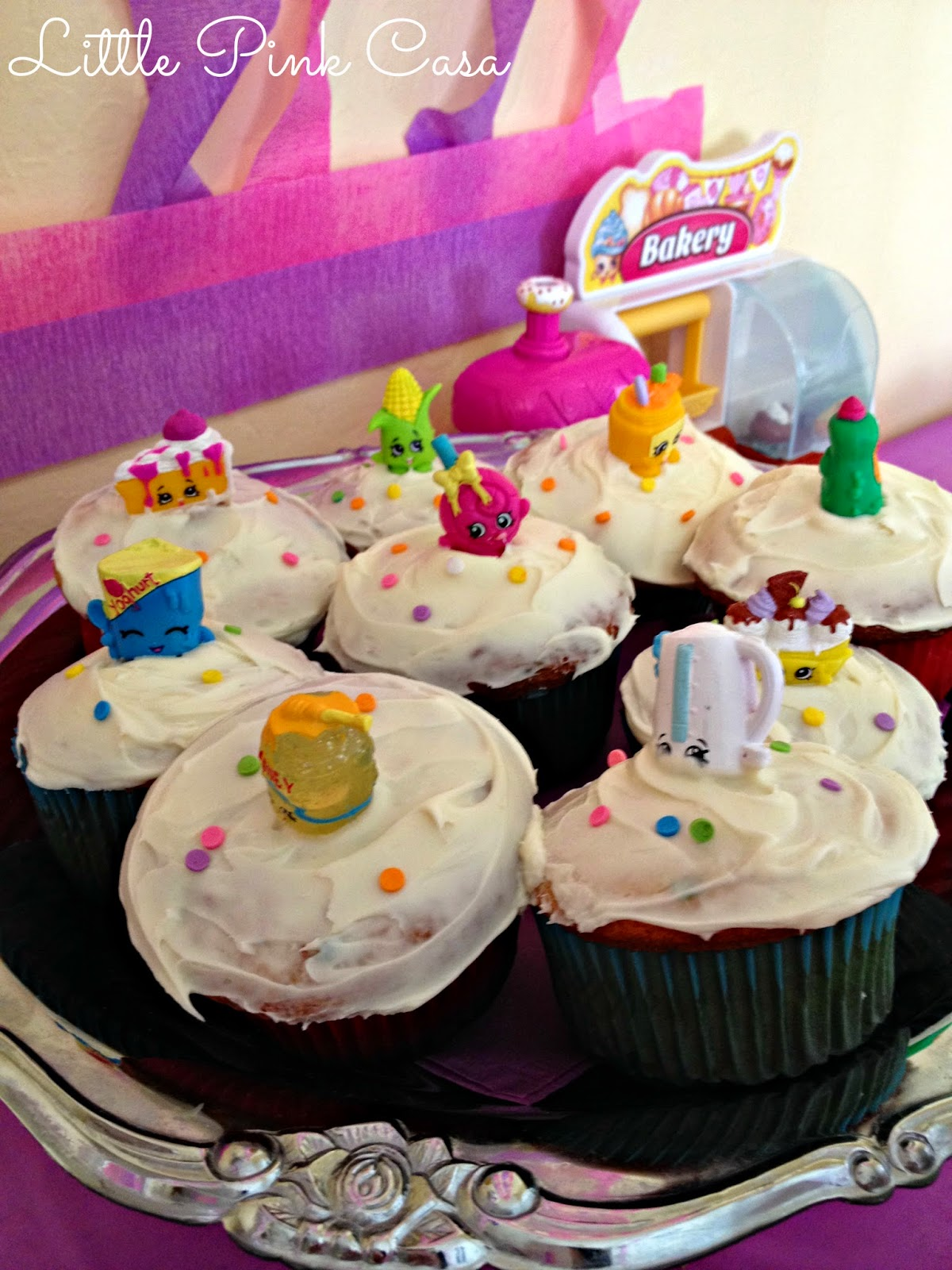 Little Pink Casa Hadara S Shopkins Birthday Party On A