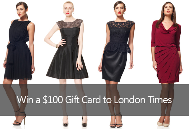 london times clothing fashion contest giveaway win prize gift certificate card