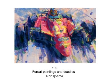 100 Ferrari paintings book