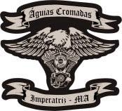ÁGUIAS CROMADAS