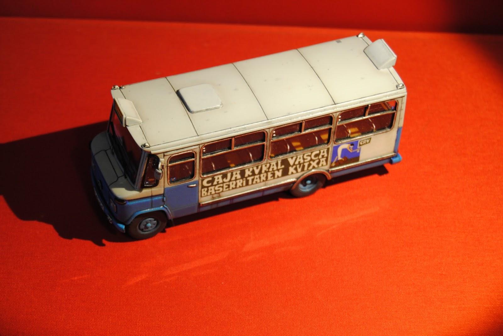 Modelautoclassic azulito bilbao caja rural vasca 1 43 scratch for Caja rural bilbao oficinas