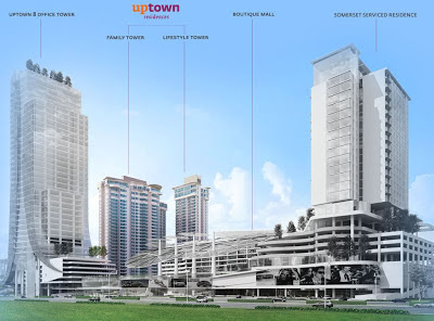 Damansara Uptown Phase 2 Upgrade Artist's Impression