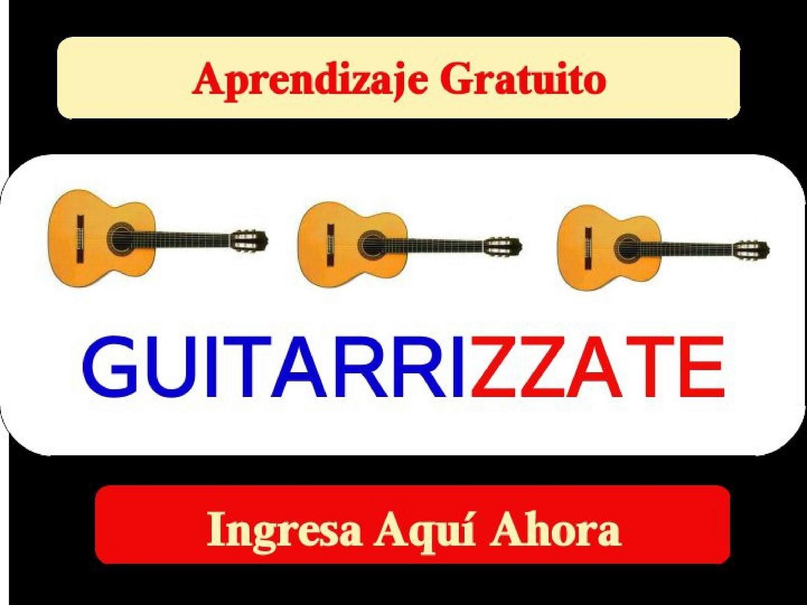 GUITARRIZZATE ingresa ahora, Aprendizaje Gratuito por Musizzate