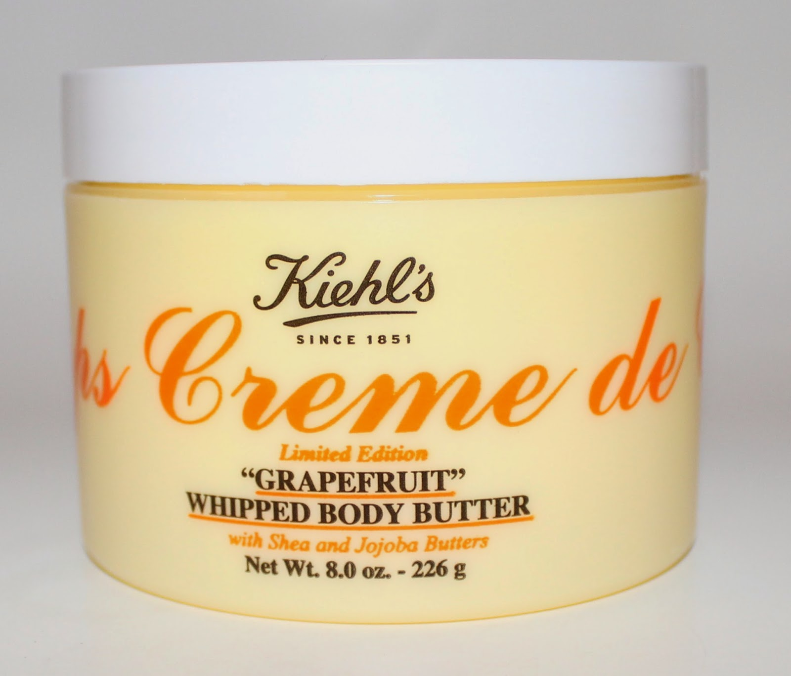 Kiehl's Limited Edition Creme de Corps Grapefruit Whipped Body Butter