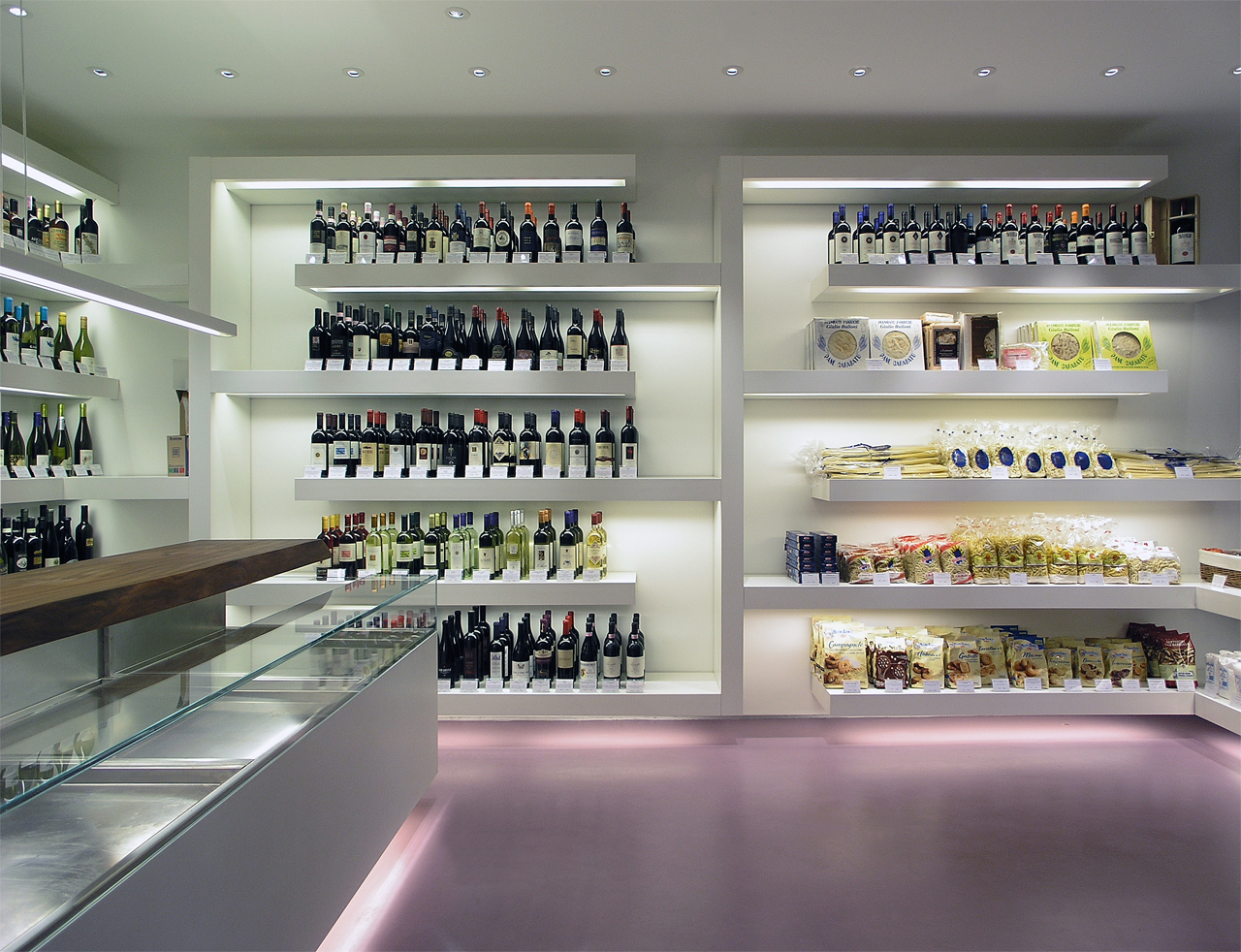 Retail Interior Design | OLIVINO | Delicatessen Shop | London | Pierluigi  Piu