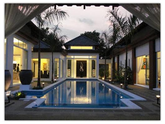 kolam renang kecil untuk rumah minimalis