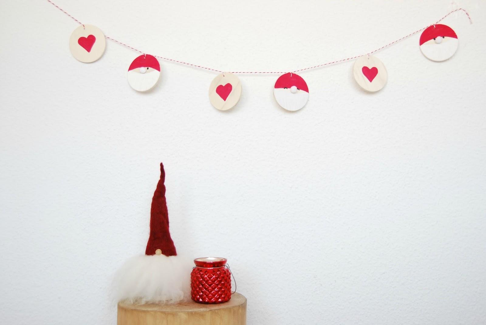 Guirnalda navide a que podr s hacer con tus hijos - Guirnaldas navidad manualidades ...