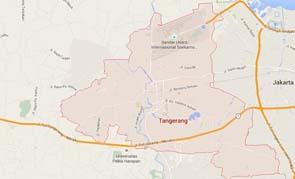 Peta Daerah Tangerang | Ilustrasi