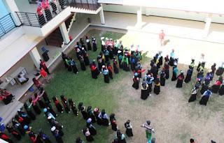 Antusiasme Mahasiswa PBA Staimafa Dalam Kegiatan Mukhoyyam Araby