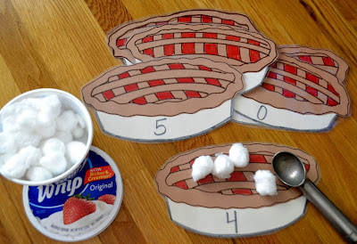 Pumpkin pie counting game