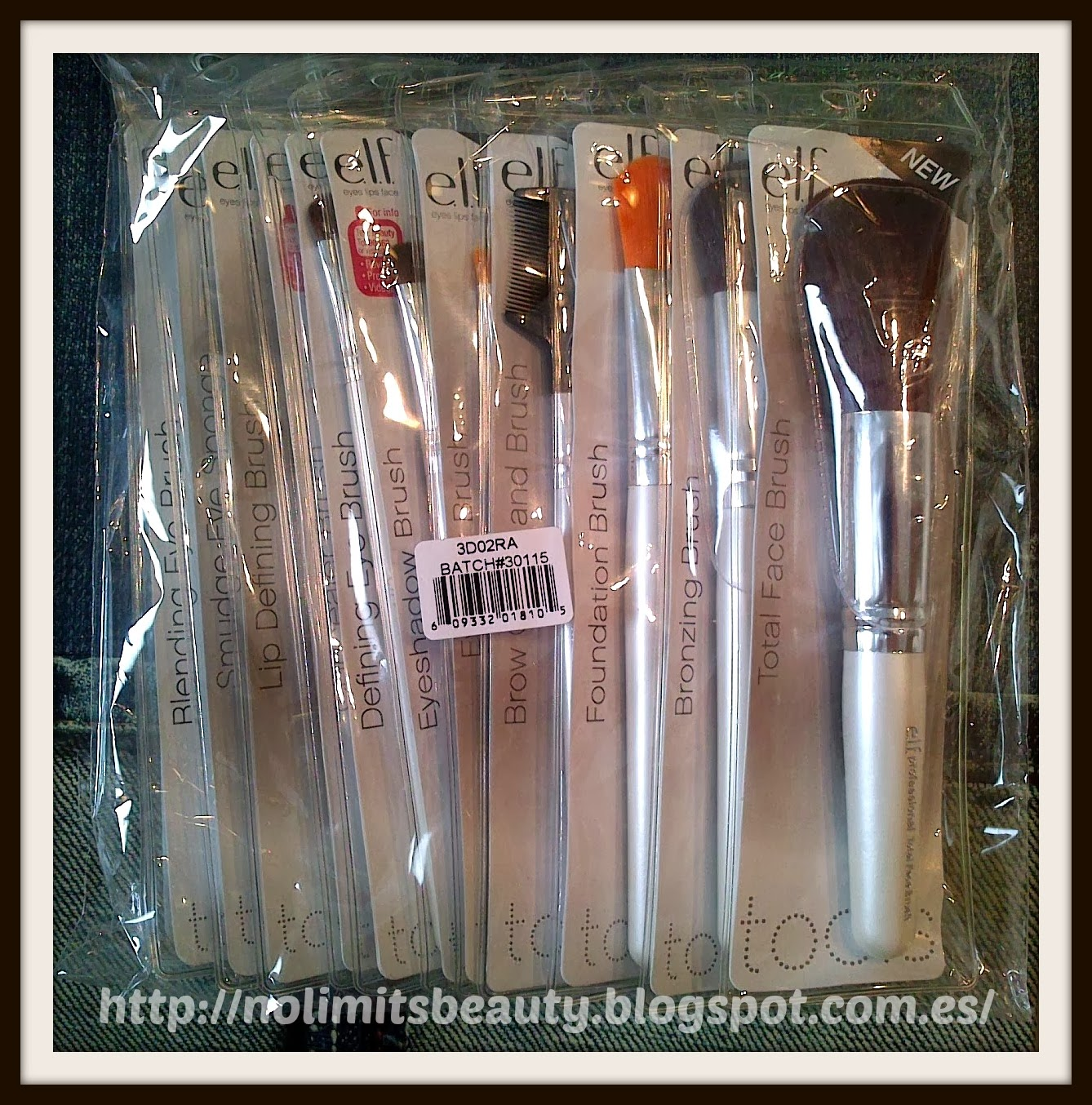 iHerb - ELF Make Up Professional Brush Set