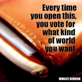 vote with your pocketbook