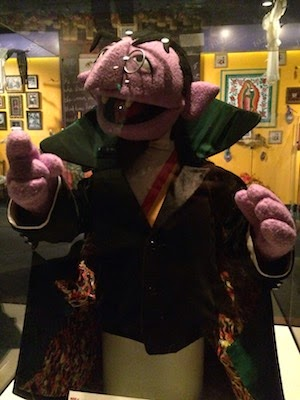 Chuck and Lori's Travel Blog - Sesame Street's Count von Count
