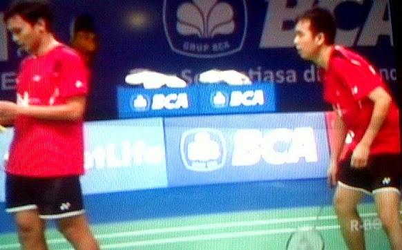 Mohammad Ahsan/Hendra Setiawan Runner UP