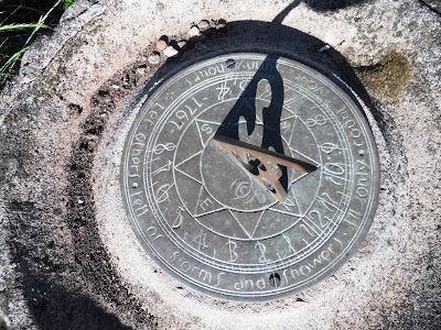 1767 Sundial in a Somerset garden