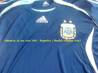 camiseta Argentina Alemania 2006