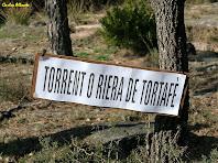El torrent o riera de Tortafè. Autor: Carlos Albacete