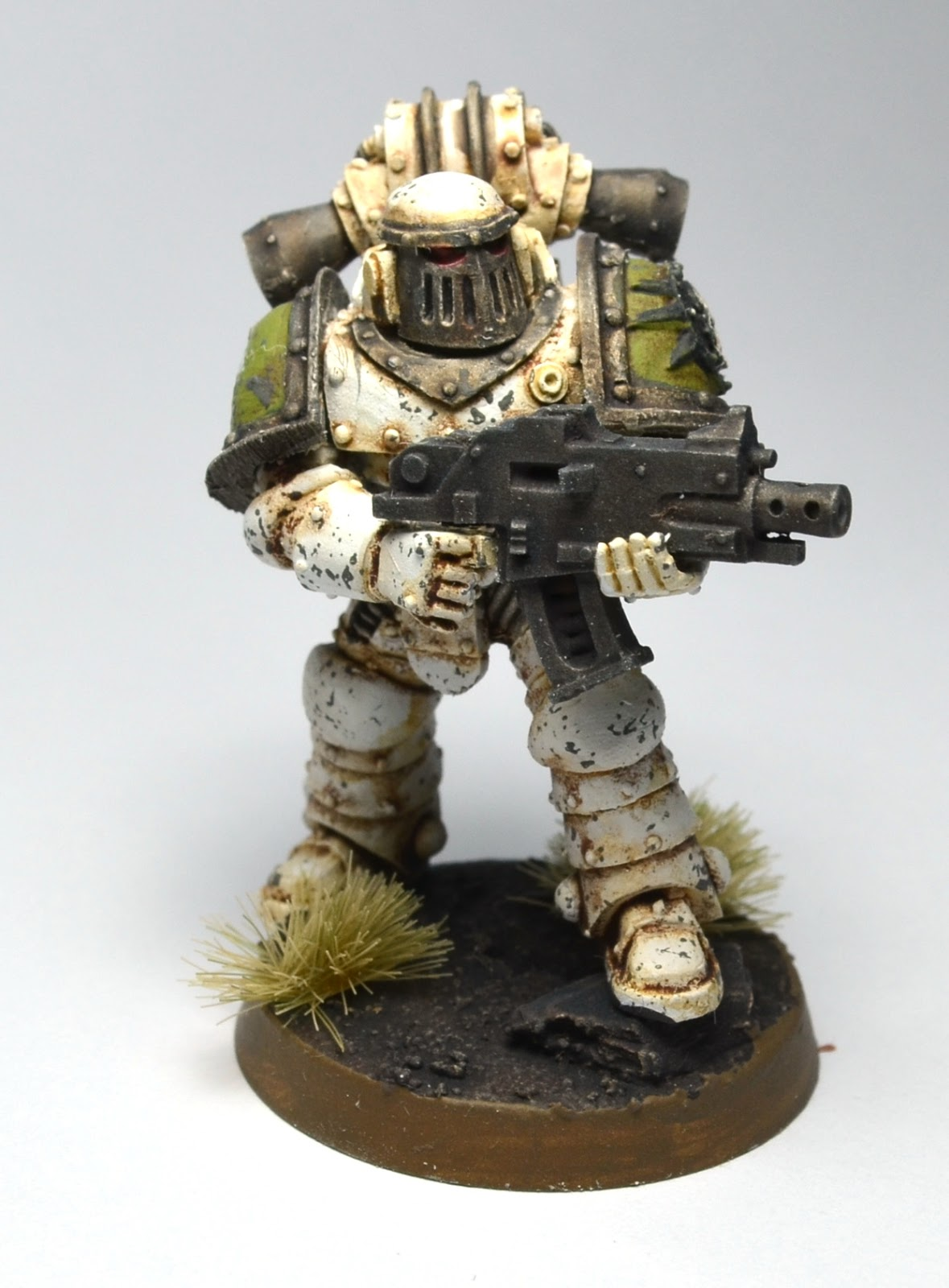 Painting Death Guard White