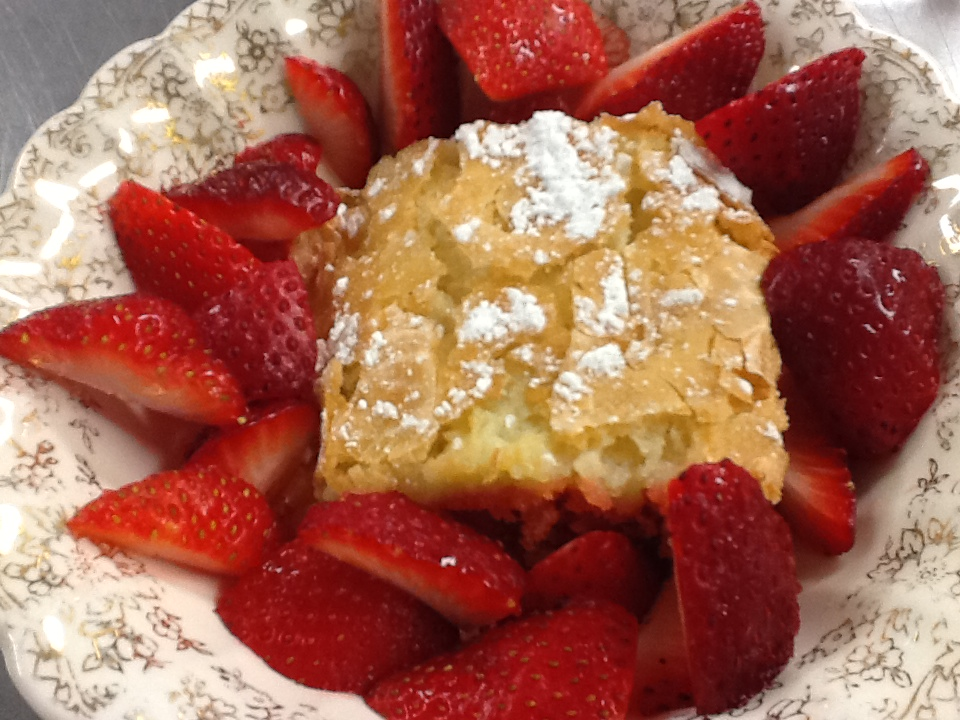 ... : How to Make Strawberry Chess Squares, A Sweet Southern Confection