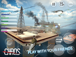 CHAOS Combat Copters 6.3.5 MOD APK+DATA [Unlimited Gold/Silver/Maxed Rank]