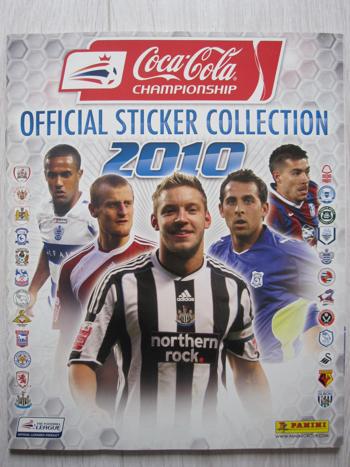 Only good stickers panini coca cola championship 2010 - Coca cola championship table ...