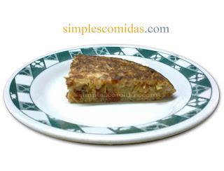 tortilla de chorizo cebolla papa