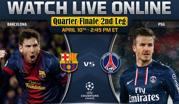 Keputusan Liga Juara-Juara Eropah 11 April 2013 - Barcelona vs PSG