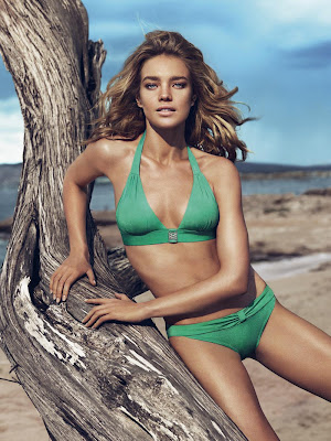 Natalia Vodianova for Etam Summer 2013 Bikini Collection