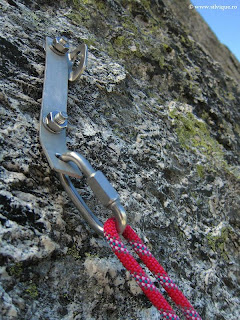 Belay Station in Multi Pitch Climbing