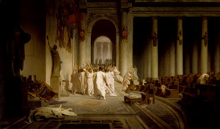 Ides of March band name origins - Gérôme - The Death of Caesar