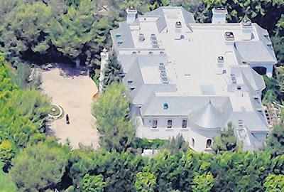 Rumah sewa Michael Jackson dijual